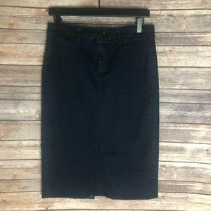 J Brand Jean Denim Pencil Skirt Size 29